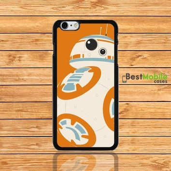 Star Wars BB-8 Droid Robot Back Case Cover for iPhone 8 8+ 7 7+ 6 Plus SE 5S 5C