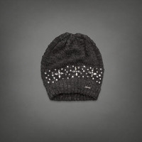 Jewel Embellished Beanie