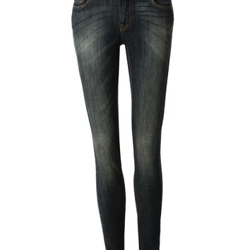 LE3NO Womens Vintage Skinny Denim Jean Pants with Pockets