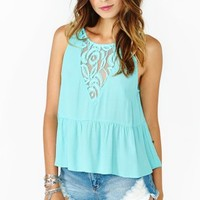 Spring Lace Tank