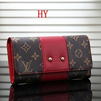 Louis Vuitton LV Women Fashion Purse Wallet