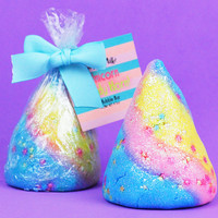 Rock Candy Unicorn Candy Horn Bubble Bar
