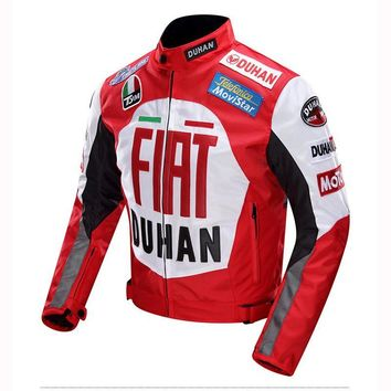 DUHAN Men's Windproof Motorcycle Jackets Motocross Off-Road Motorbike Racing Jacket Oxford Protective gear Clothing Moto Jacket