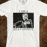 JFK is a jelly donut