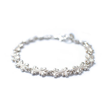 Silver bracelet, Silver pendant for womens and mens bracelet