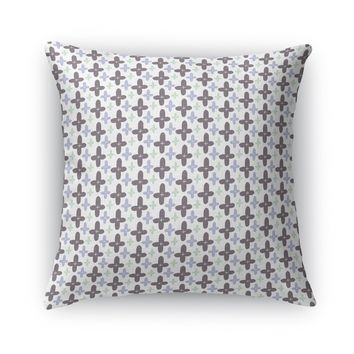 POSITIVITY FLOWERS Accent Pillow By Heidi Miller