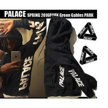 Palace Hoodies Men Sport Skateboards Tracksuits Spring Autumn Thin Sweatshirts Mens Cotton Fashion Streetwear Triangle Hoodie