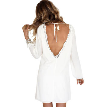 ≫∙∙Summer Boho Backless Trendy Dress Casual Summer Fashion ∙∙≪
