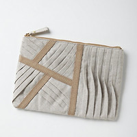 Pleated Maze Pouch