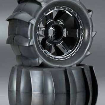 """Pro-Line Sling Shot 3.8"""" Sand Tire Mounted 17mm F/R"""