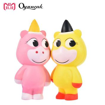 Oyuncak Squishy Novelty Gag Toys Unicorn Human Stress Relief Gadget Squeeze Popular Fun Anti-stress Surprise Jokes Squishe Gifts