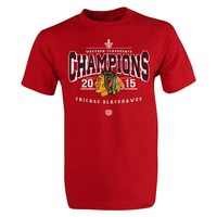 Old Time Hockey Chicago Blackhawks 2015 Conference Champions Tee