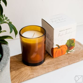 Pumpkin Farmhouse Candle