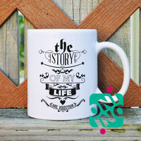 1D Story of My Life Lyric Coffee Mug, Ceramic Mug, Unique Coffee Mug Gift Coffee