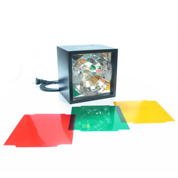 Cube Strobe Light with Color Filters