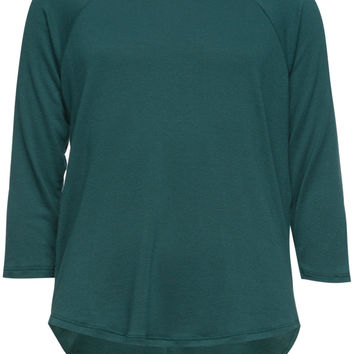 H.I.P. Lace Back Girls Tee Green  In Sizes