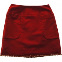 Red skirt CHANEL Red