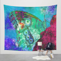 Butterfly 1 Wall Tapestry by Haroulita