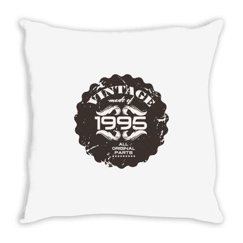 vintage made of 1995 all original parts Throw Pillow