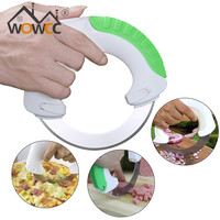 Circular Annular Cutter knife chopping artifact Pizza Portable Safety Convenience Multifunctional Tools Home