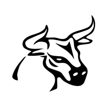 The Bull- Car, Truck, Notebook, Vinyl Decal Sticker Any Corlor