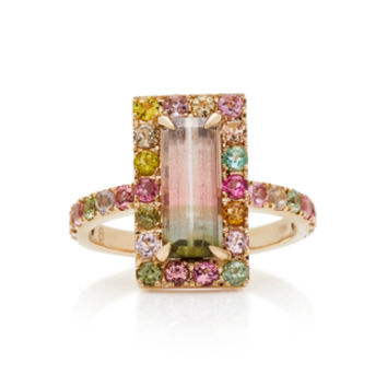 18K Gold Tourmaline Ring | Moda Operandi