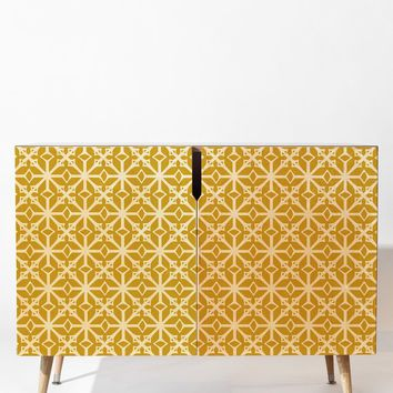 Heather Dutton Diamante Gold Credenza