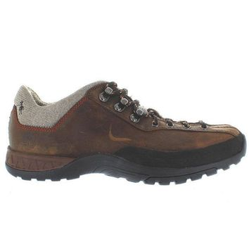 CREYONIG Timberland Earthkeepers Front Country Hiker - Dark Brown Leather Hiking Shoe