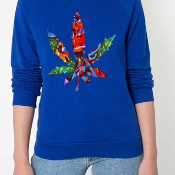 Candy Potleaf crew neck