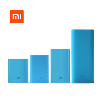 Hot  Xiaomi power bank silicone cases covers for 16000 20000 10000 10000Pro 5000 mAh  powerbank external battery pack protector