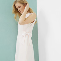 Side bow shift dress - Baby Pink | Dresses | Ted Baker