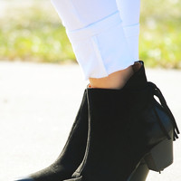 Hit The Road Booties: Black
