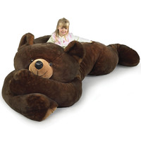 The 7 1/2 Foot Slumber Bear - Hammacher Schlemmer