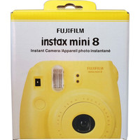 Fujifilm INSTAX Mini 8 Instant Film Camera (Yellow) 16273441 B&H | B&H Photo Video