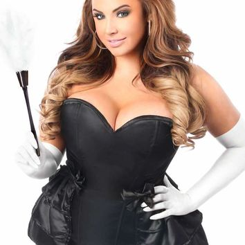 Daisy Corsets Female Plus Size  5 PC Frisky French Maid Corset Costume LV-444_Plus