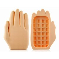 Amazon.com: Yellow 3D Hand Palm Shape Silicone Case Cover Skin for iPhone 4 4G 4S: Cell Phones & Accessories
