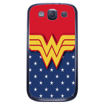 Wonder Woman Logo Samsung Galaxy S3 Case