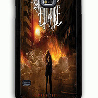 Samsung Galaxy S5 Case - Rubber (TPU) Cover with Crown The Empire Rubber Case Design