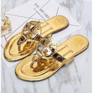 Tory Burch Women Casual Fashion Sandal Slipper Shoes