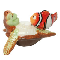 Disney Finding Nemo Crush & Nemo Salt And Pepper Shakers