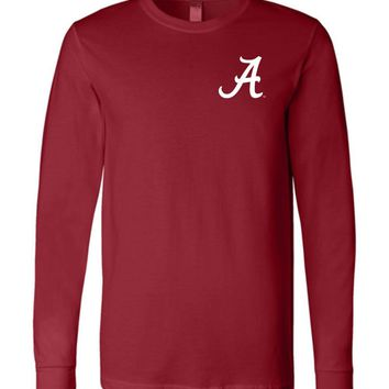 Official NCAA Venley University of Alabama Crimson Tide UA ROLL TIDE! Long Sleeve T-Shirt - 35AL-25