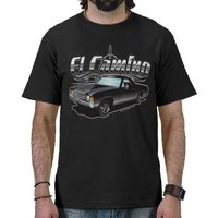 El Camino (Black Magic) Dk T-shirt from Zazzle.com