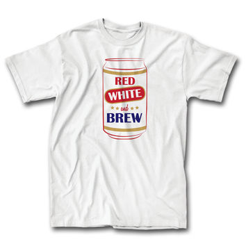 Red White and Brew (White)
