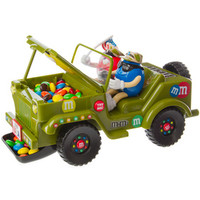 M&M's Candy Military Jeep Toy