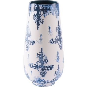 Blue & White Nube Vase, Large