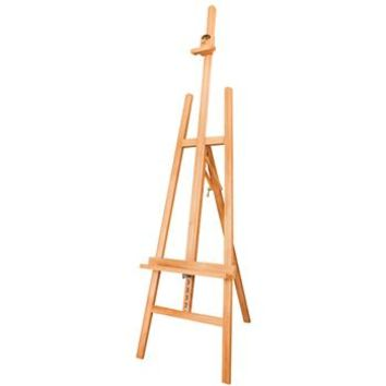 Save On Discount Utrecht Beechwood Studio A-Frame Easel, Folds Flat, Extended Ht 92 inches & More Studio Easels at Utrecht