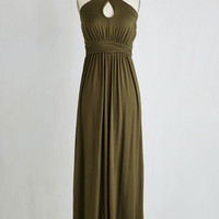 Long Sleeveless A-line Dawn By The Bay Dress