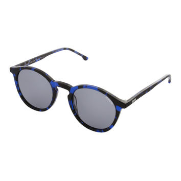 Aston Crafted Tortoise Blue Sunglasses