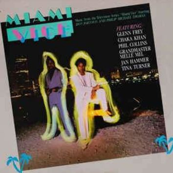 "Music From The Television Series ""Miami Vice""- Various, LP (Pre-owned)"