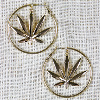 Mary Jane's Hoop Earrings